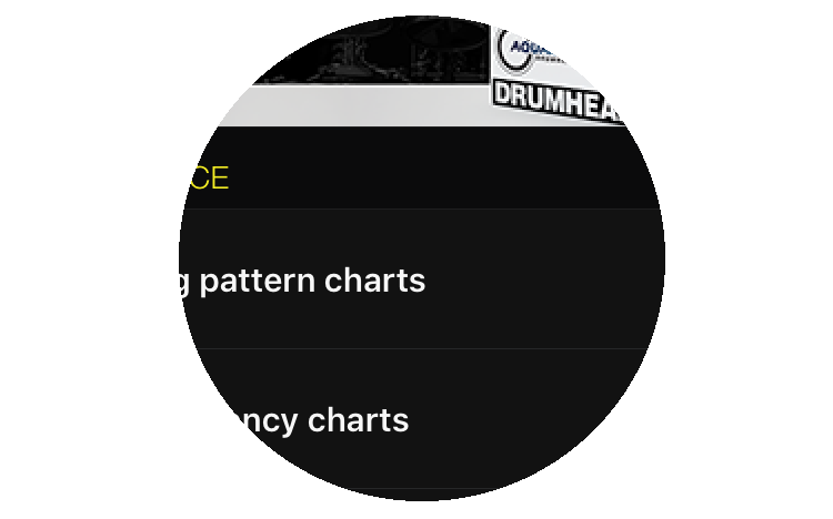 Drumtune PRO Drum Tuning App for iOS & Android